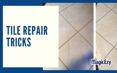 3 Damaged Tile Repair Tricks to Achieve a Smooth, Undetectable Repair